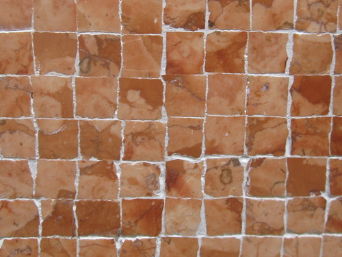 Brown Mosaic Tile Pattern