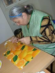 Podzimní tvoření s prstovými barvami, 1. 11. 2011