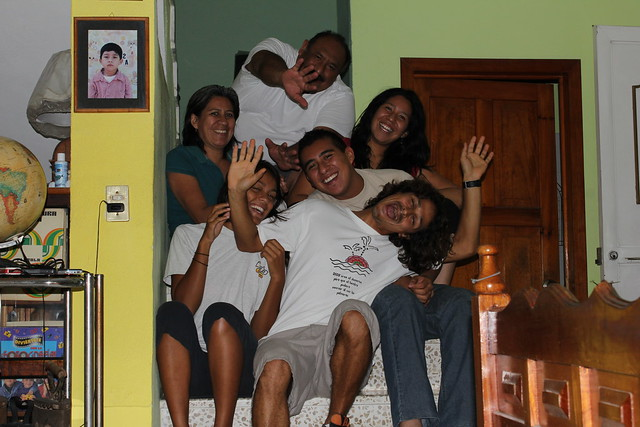 Mexican host family