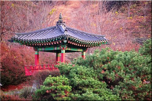 Korean Gazebo at Nongdari Bridge