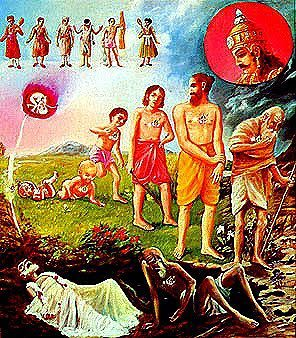 DEMISE OF THE DYNASTIES AND DEATH OF KRISHNA
