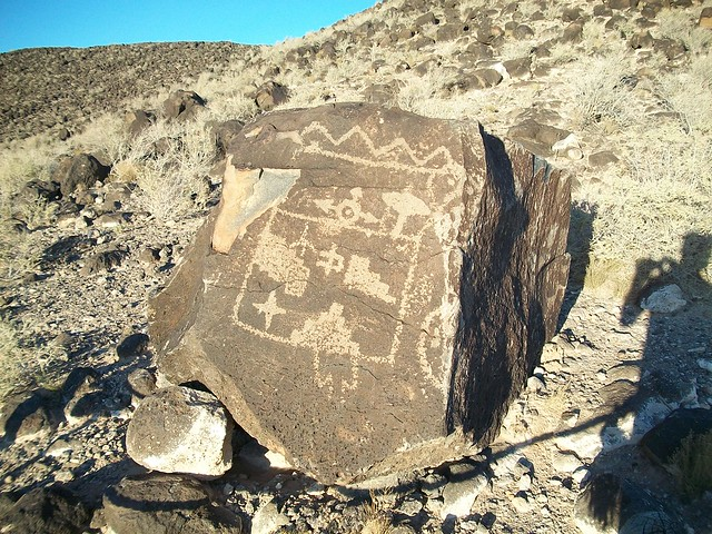 Petroglyphs National Monument by CC user justinstravels on Flickr