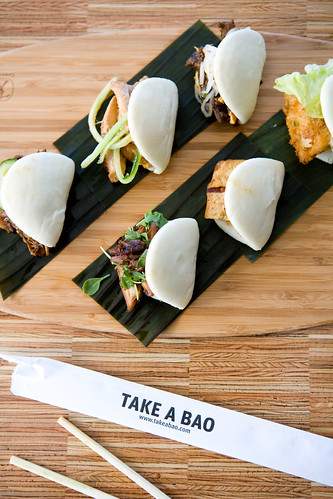the bao sampler (returning to the menu soon) by TAKE A BAO