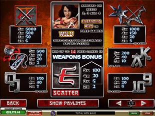 Elektra Slots Payout