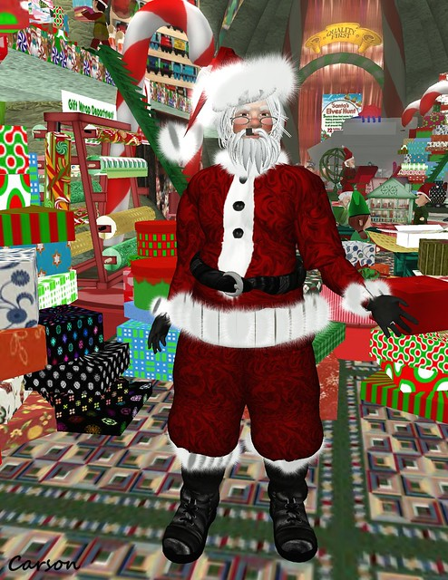 Crickets - Santa Full Avatar and Suit