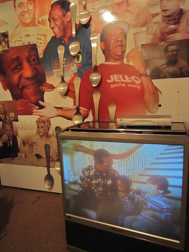 Bill Cosby Jello Pudding Display