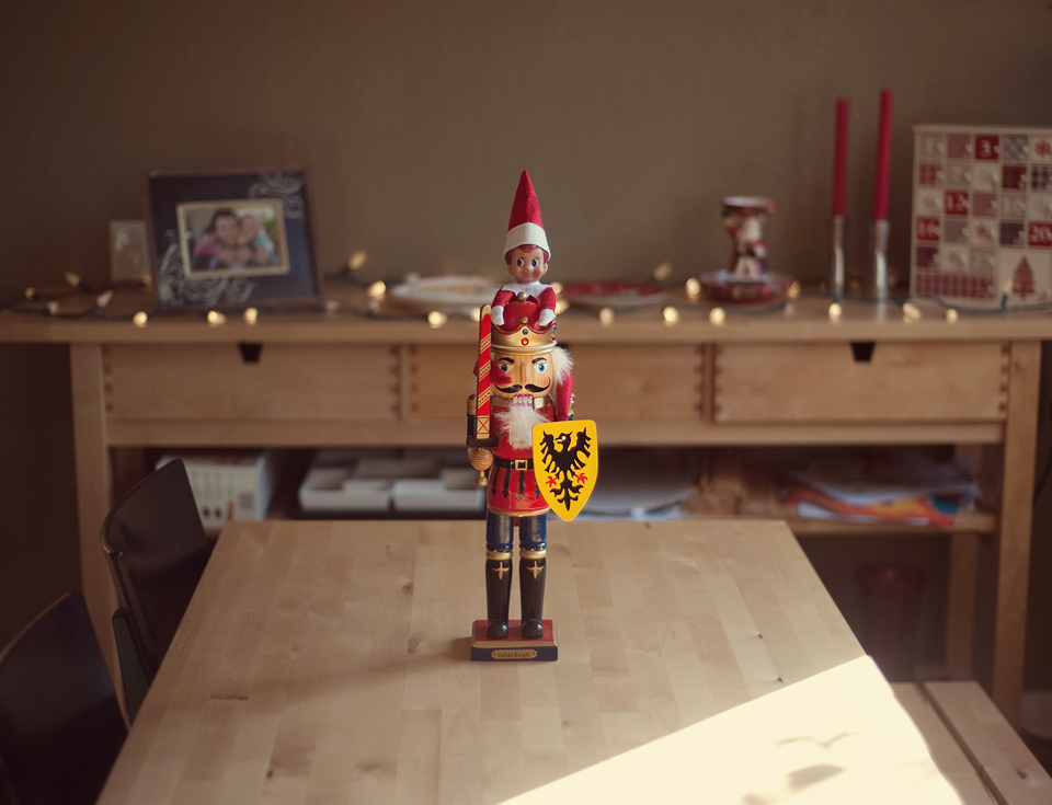 Elf on the Shelf, December 2nd