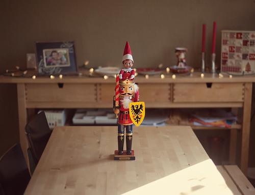 Elf on the Shelf, December 2nd