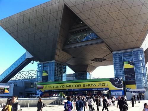 東京モーターショー会場 東京ビッグサイト