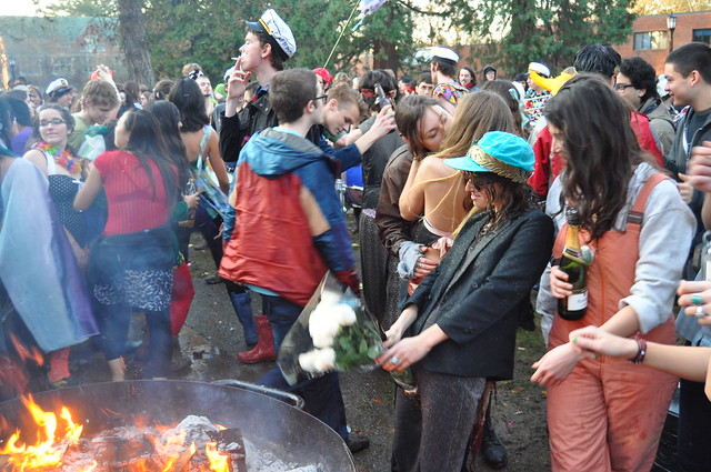 Reed college spring fall thesis parade