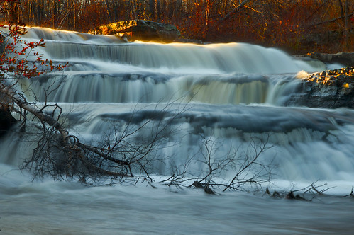 longexposure red tree nature leaves landscape waterfall berries falls fallen shohola