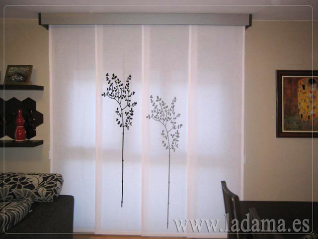 Photo - Decoracion salones cortinas ...