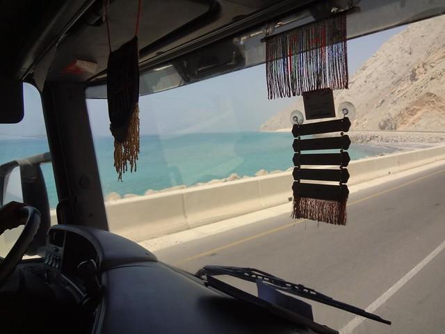 Boleia Fronteira EAU e Ras Musandam até Khasab Omã