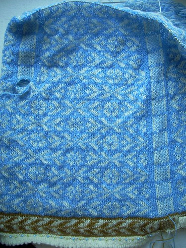Cardigan progress by Asplund