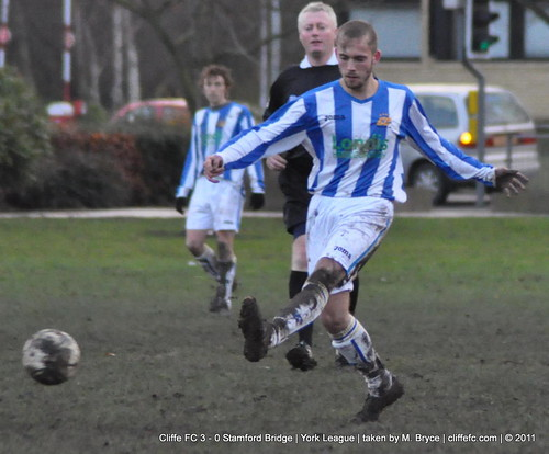 Cliffe FC 3 - 0 Stamford Bridge 10Dec11