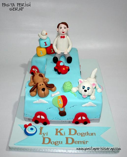 1 yaş pastası- DOĞU DEMİR