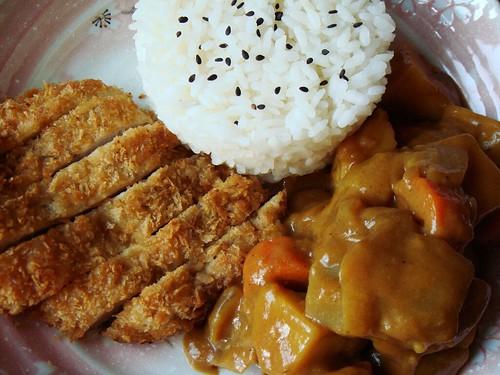 Curry Katsu Don