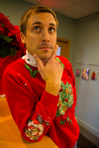 Ugly Sweater Day at TechSmith by betsyweber