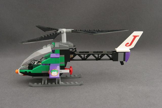 6863 Batwing Battle Over Gotham City - Joker's Helicopter ...
