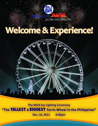 sm mall of asia eye ferris wheel
