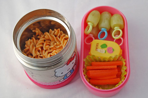 Bento #172 - Twirls and Rings