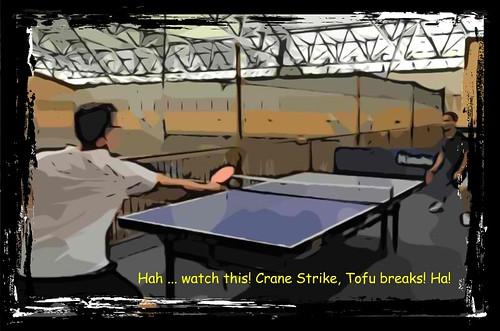 Mario Crane Strike Stance_Tofu breaks