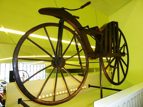 Possibly world's oldest bicycle, circa 1846