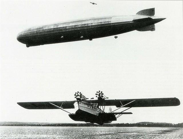 Dornier Do R4 Super Wal and LZ 127 Graf Zeppelin