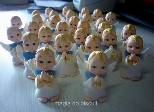 lembrancinhas batizado by galeria magia do biscuit