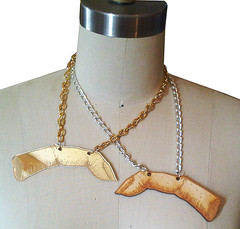 Severed finger necklaces...