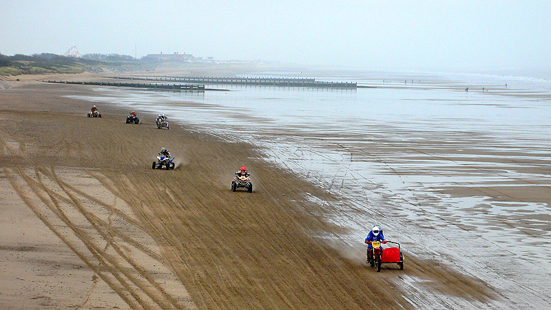 Beach Racing at Skegness