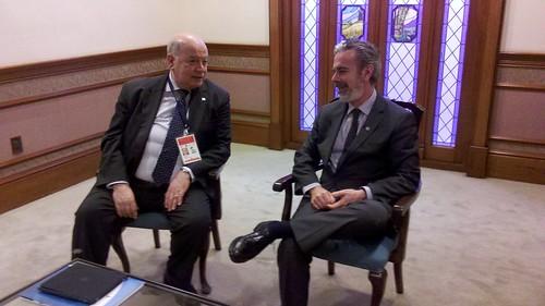 OAS Secretary General Participates in MERCOSUR Meeting