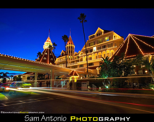 Merry Christmas from the Hotel del Coronado! by Sam Antonio Photography