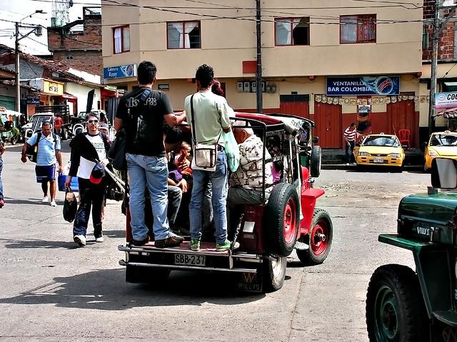 transporte public, montenegro-quindio