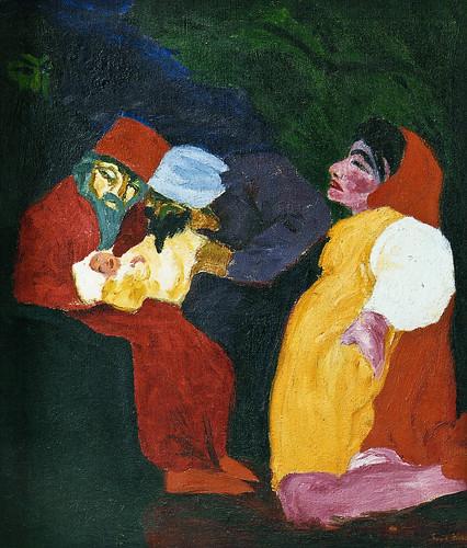 [ N ] Emil Nolde - Le Rois mages (1912) by Cea.