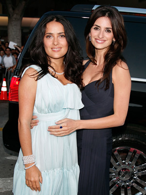 BFFs Salma and Penelope