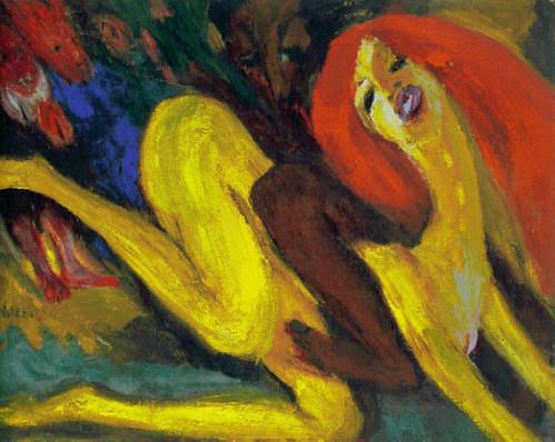 [ N ] Emil Nolde - Tolles Weib (1915) by Cea.