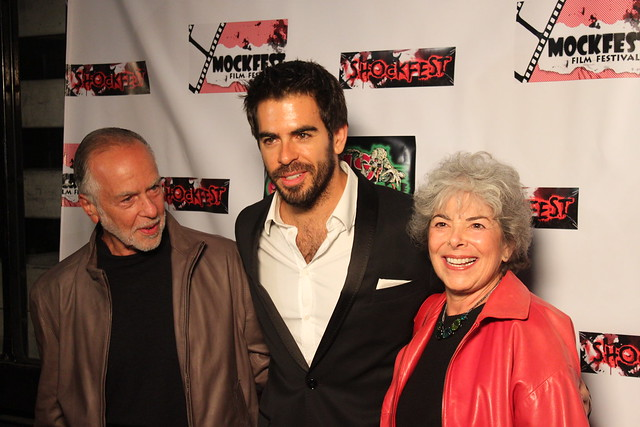 Eli Roth with his parents