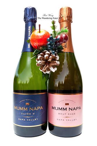 Mumm Napa Cuvée M & Mumm Napa Brut Rosé