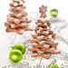 Gingerbread trees by The Little Squirrel