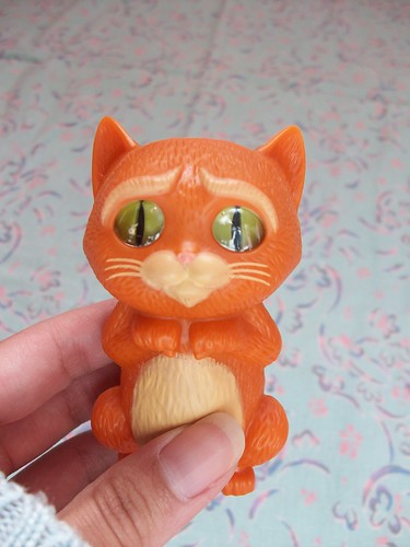 baby puss in boots from happy meal (before)