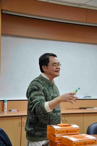 台大農藝系教授盧虎生將安排台日小麥種植經驗交流。(圖片來源:喜願小麥臉書粉絲團)