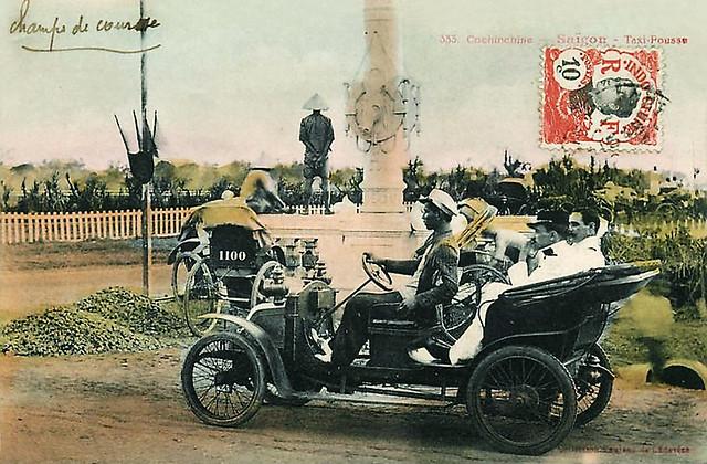 SAIGON - Taxi Pousse aux Champs de Course