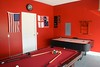<p>Garage has been converted to a games room with Pool Table, Air Hockey, Foosball (table football) and darts</p>