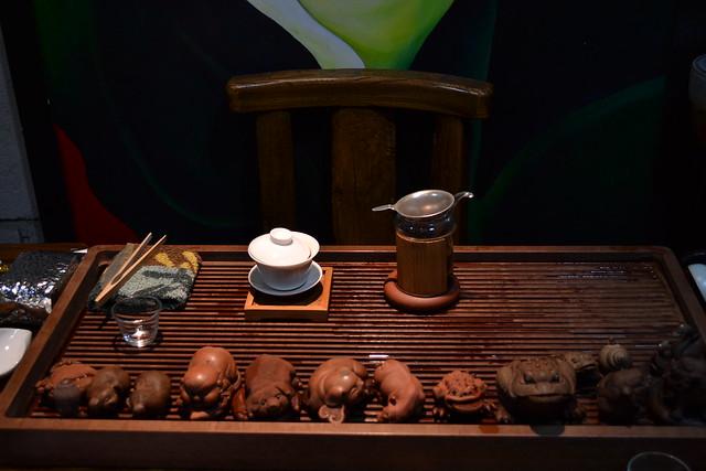 Modern tea set