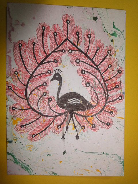 Warli Inspired New year card 5