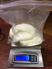 Nearly 2lbs of Mozzarella by mikeysklar