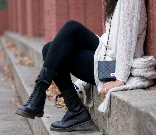 Image result for girl wearing doc martens
