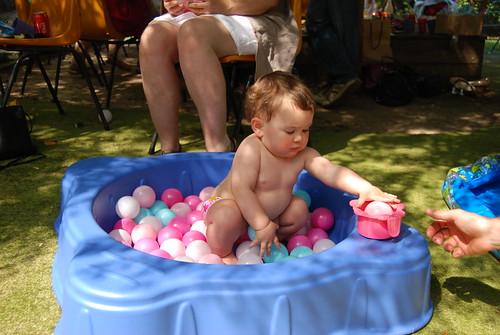 Sierra's first birthday party