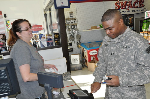 Smart shopping at Boone National Guard Center exchange
